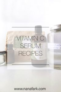Easy Vitamin C Serum Recipes For Acne Spots & Wrinkles