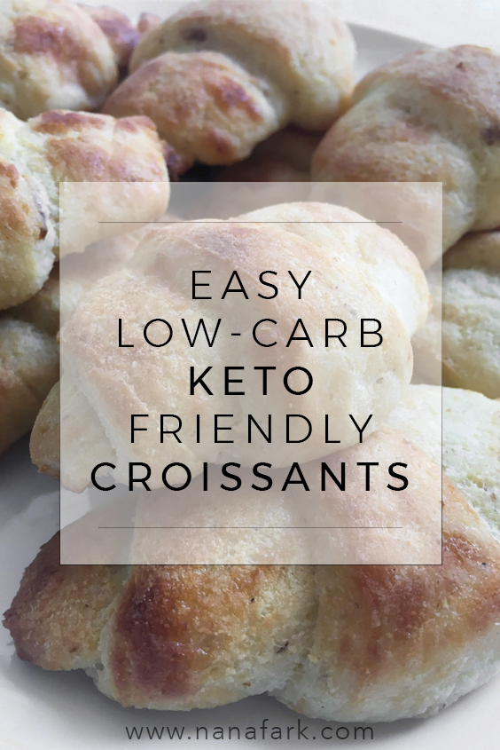 Easy Low-carb, Keto friendly Croissants